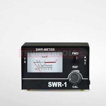 SWR - 1 | 26-30 MHz CB Radio SWR Medidor con guía de sintonización de antena GRATIS