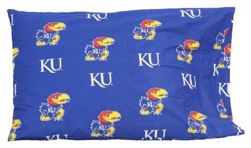 Kansas Jayhawks 20 x 30 Team Logo Pillow Case