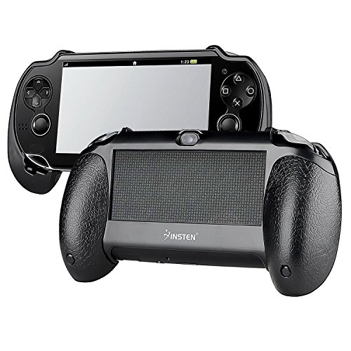Insten New Trigger Grips Hand Grip Compatible With PS Vita PSVita Playstation Vita 1000 (PCH-1000), black