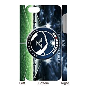 Generic Custom Design Brigham Young University NCAA BYU Cougars Teams Logo Plastic Case Cover for iPhone5 by supermalls