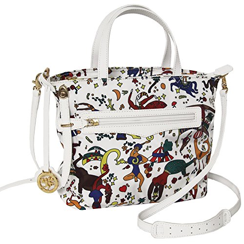 Piero Guidi borsa donna Handbag Magic Circus Nylon bianco 210173088.98