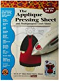Bear Thread Applique Pressing Sheet