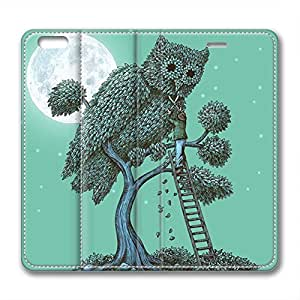 New Design and Good Quality Case,PU Leather Magnet Shell Stand Case Cover for iphone6 with The Night Gardener