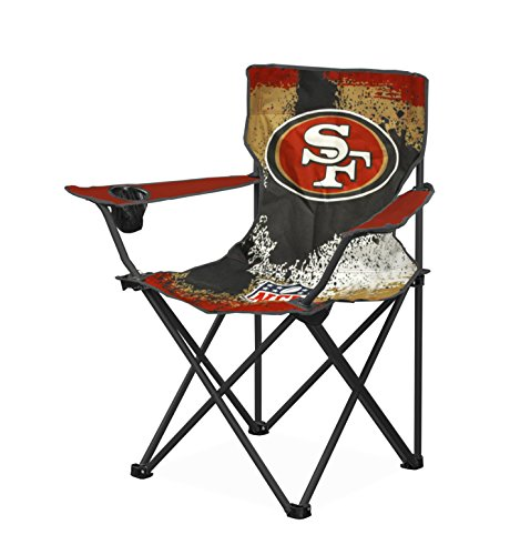 Idea Nuova NFL San Francisco 49 s Tween Camp Chair