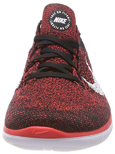 Running Crimson Bright da Run White Scarpe Multicolore 2018 Black Nike 001 Uomo Flyknit Free Laufschuh CwqxvYnPp0
