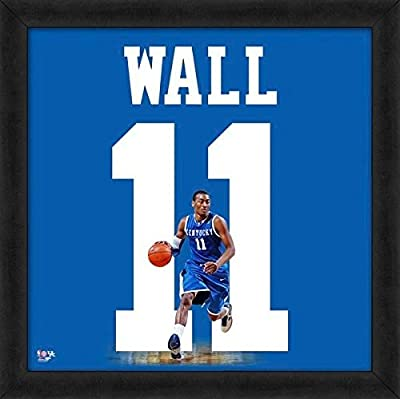 John Wall University of Kentucky Wildcats Jersey Uniform 20x20 Framed Photo