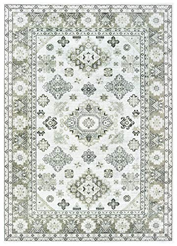 United Weavers Royalton Area Rug 853 10790 Richmond Cream Diamonds Angled 2' 7
