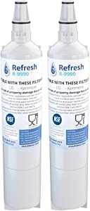Refresh Replacement for LG 5231JA2006A, 5231JA2006B, LT600, LT600P also fits Kenmore 46-9990, 9990, 469990 Refrigerator Water Filter (2 Pack)