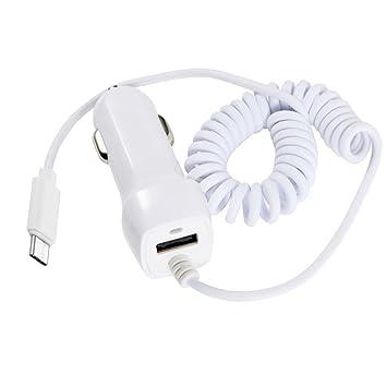 Komei USB tipo C cargador de coche, LG G5 Cargador de coche ...