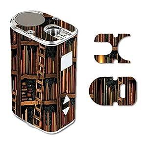 Eleaf iStick 10W Mini Vape E-Cig Mod Box Vinyl DECAL STICKER Skin Wrap / Library Books Print