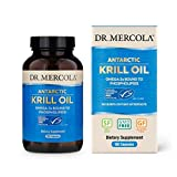Dr. Mercola, Antarctic Krill Oil, 90 Servings (180 Capsules), MSC Certified, Non GMO, Soy-Free, Gluten Free
