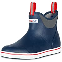 Xtratuf Performance Series 6 Mens Rubber Ankle Boots Mens 8 Navy/Red by Xtratuf