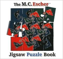 the mc escher jigsaw puzzle book