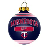 Minnesota Twins Official MLB 2014 Year Plaque Ball Ornament by Forever Collectibles