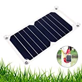 EEEKit 10W 5V Solar Power Panel Charger Bank for Samsung iPhone Tablet Camping Travel