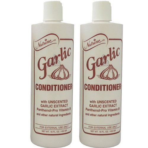 Nutrine Garlic Conditioner with Uncented 16oz (Pack of ()
