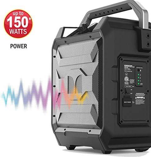Monster Rockin Roller Charge Bluetooth Speaker