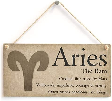 Fire sign Celtic knot Ram Astrological signs gift Aries Zodiac wall art Astrology wall art unique Horoscope ceramic plaque