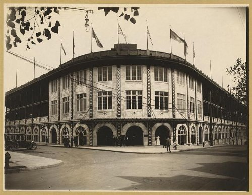 Photo: Forbes Field, a baseball stadium, Pittsburgh, PA 1909 - Baseball Forbes Field