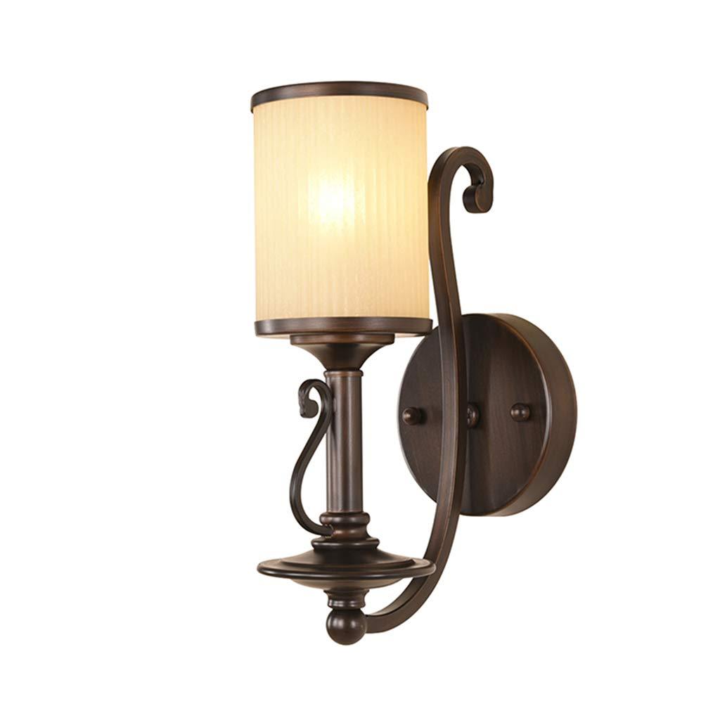 Energie sparen Spiegel Frontleuchten, amerikanischen Stil Retro Wandleuchte Iron Lampe Wohnzimmer Schlafzimmer Wandleuchte Hintergrund Wandleuchten Nachttischlampe Spiegel vorne Licht Gang Lichter Dau