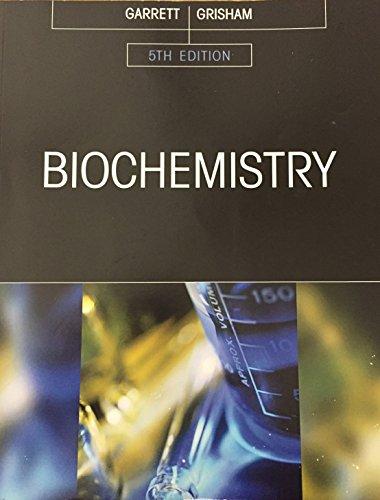 biochemistry garrett and grisham 5th edition pdf