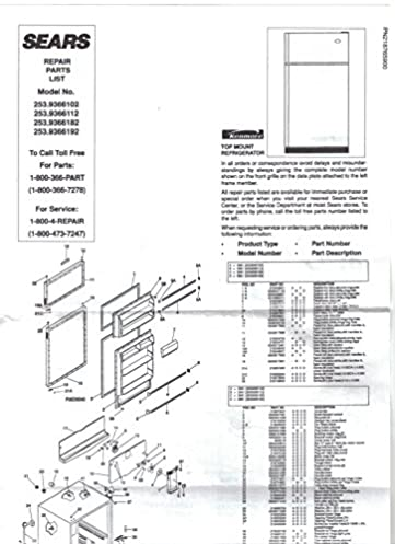 sears kenmore refrigerator owners manual instruction guide sears rh amazon com kenmore refrigerator user manual pdf kenmore elite refrigerator user manual