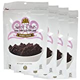 Skinny Crisps Brownie Bite Crisps : Low Carb, Gluten Free, Vegan, Kosher, Keto Freindly Crackers 4 Oz Bag (Pack of 4)