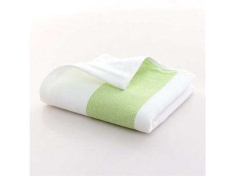 SUPRERHOUNG Stripe Adult Gasa Wash Toalla para la Cara Toalla Absorbente para el Lavado doméstico (