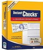 Instant Checks for QuickBooks, Quicken & Money: Form #3001 Personal Wallet - Blue Prestige 250pk by VersaCheck