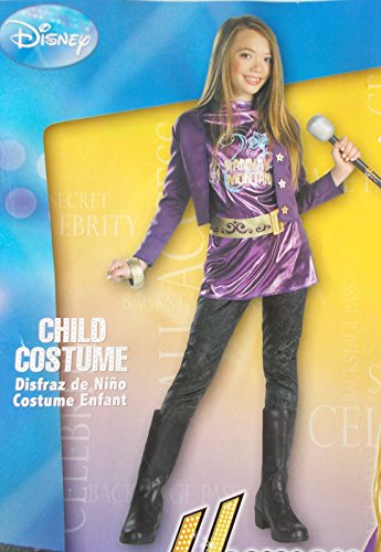 Hannah Montana Purple Child Costume Top Pants Jacket 4-6X NIP
