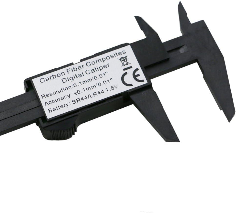 QST 6 inch LCD 150mm Digital Electronic Carbon Fiber Vernier Caliper