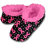 Snoozies Breast Cancer Awareness Women's Slippers