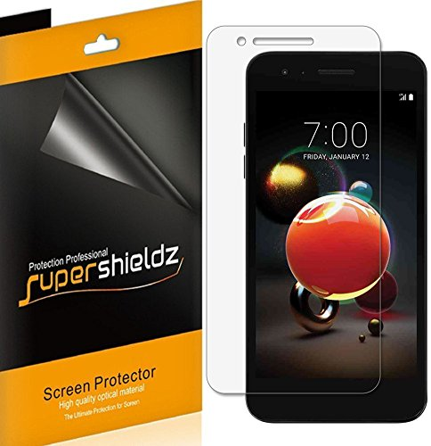 [6-Pack] Supershieldz for LG (Rebel 4) 4G LTE Screen Protector, High Definition Clear Shield + Lifetime Replacement