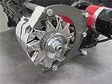 Small Block Chevy SBC Engine Mid Mount Alternator Bracket Electric Water Pump