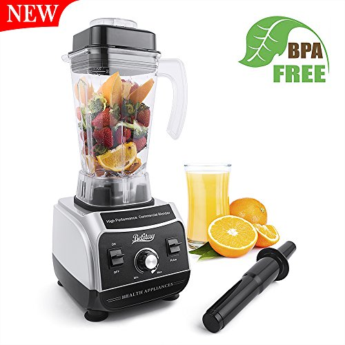 Betitay Betitay Professional Commercial Blender 1500W High Speed Electric Mixer Nutrition Food Processors with 2 Litre BPA-Free Pitcher for Ice, Fruits, Vegetables, Smoothies and Soups price tips cheap
