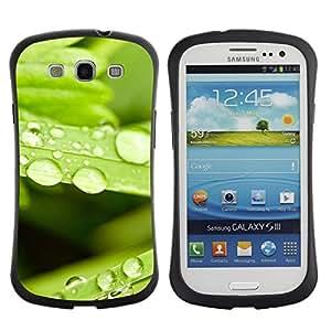 Paccase / Suave TPU GEL Caso Carcasa de Protección Funda para - Plant Nature Forrest Flower 80 - Samsung Galaxy S3 I9300
