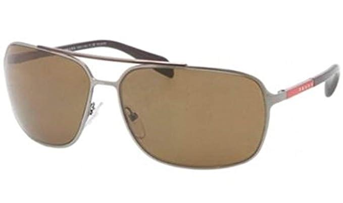 6320a7a324b8 PRADA SPORT Sunglasses PS 54OS 5AV5Y1 Gunmetal 64MM: Amazon.co.uk: Clothing