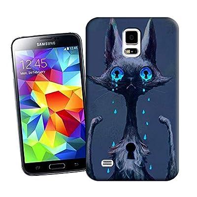 Aerb Ultra Hybrid Bumper Case W Clear Hard Back Panel for Samsung Galaxy S5 S V i9600