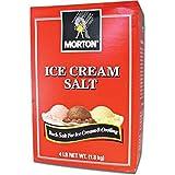 Morton Salt Ice Cream Salt, 4 Pound Box by Morton Salt