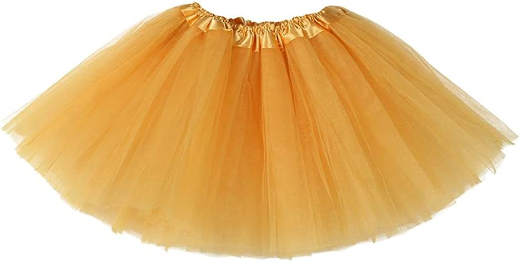 Baby Girls Skirt for 3-10 Years Old Xinantime Kids Cute Solid Tutu Ballet Skirts Fancy Party Skirt
