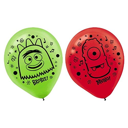 Printed Latex Balloons | Yo Gabba Gabba Collection | Party Accessory -