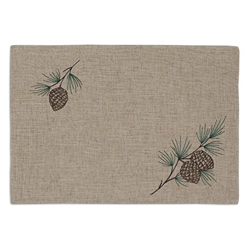pine cone placemats - 2