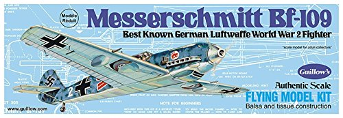 Guillow's Messerschmitt Bf-109 Model Kit (Bf Fighter 109)