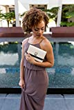 Ivory Crossbody evening Clutch for HTC Phones