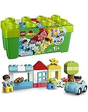 LEGO 10913 DUPLO Classic Opbergdoos met Kleurrijke Stenen, Educatief Constructiespeelgoed voor Peuters van 1,5 Jaar Oud