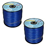 Cyclone CY065S3 .065-Inch-by-300-Foot Grass Trimmer Line, Blue - 2 Pack