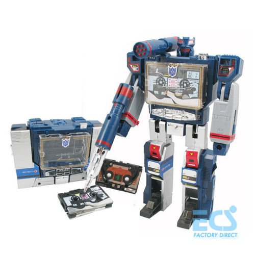 [Transformers G1 Soundwave Decepticon 21cm Hot Action Figure Toys KO Box Package] (Arcee Prime Costume)