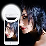 Selfie Ring Light 36 LED flash/Best prop/Accessories/Portable for Mobile, iPhone,iPad,Samsung Galaxy, Android, Smart Phones, Laptop, Camera Photography,Video - Black