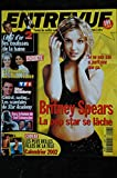 ENTREVUE 113 2001 Décembre Britney SPEARS Jennifer ANISTON Charlize THERON Les MISS FRANCE