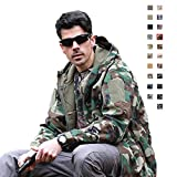 Military Ba Men's Snow Jacket Windproof Waterproof Thickening-Jungle Camouflage 2XL